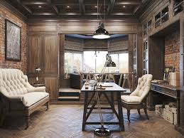 lighting home office classic home office design with industrial pendant lighting and floor arc lamp also area homeoffice homeoffice interiordesign understair office