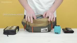 Обзор сумки на пояс The North Face <b>Lumbar Pack</b> - YouTube