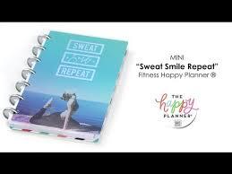 '<b>Sweat Smile Repeat</b>' Happy Planner® Preview - MINI - YouTube