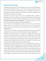 internship report on an overview of direct s in the business the skilled workforce and their tremendous work make a difference the telecommunication service provider companies