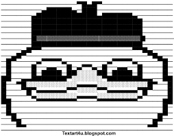 Dolan Duck Meme ASCII Art For Facebook | Cool ASCII Text Art 4 U via Relatably.com