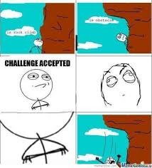 Challenge Accepted Rage Comic Memes. Best Collection of Funny ... via Relatably.com