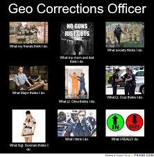 Geo Corrections Officer... - Meme Generator What i do via Relatably.com