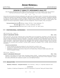 senior qa engineer resumes   uhpy is resume in you quality control resume