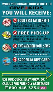 How to Donate Car NJ   Get $200 VISA   Car Donation NJ