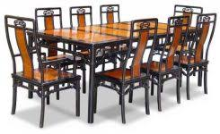 asian style dining room furniture 80quot rosewood ming style dining table with 8 chairs asian best bathroomexcellent asian inspired dining room