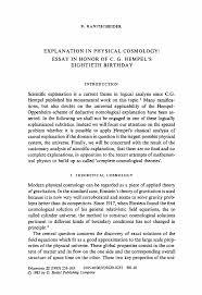 personal cosmology essay  personal cosmology essay