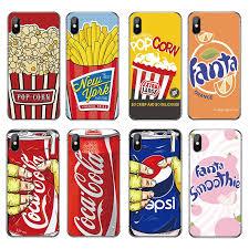 Creative Pepsi iPhone5 6 6s 7 8 plus <b>transparent tpu all</b>-<b>inclusive</b> ...