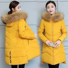 <b>Plus size 3XL</b> Down jackets 2019 <b>Fashion</b> Women Winter Coat Long ...