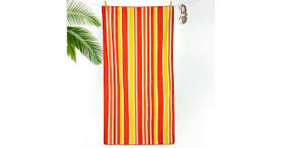 """<b>Пляжное полотенце</b> """"Полоса оранжевая"""" (<b>70х140</b>) — купить в ..."""