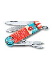 <b>Нож перочинный Victorinox Classic</b> LE2019 Let it Pop 58мм ...
