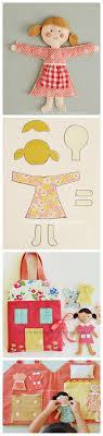 felt doll pattern by charla anne vintage modern dollhouse furniture 1200 etsy