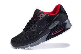 air max 90 black grey red black grey nike air