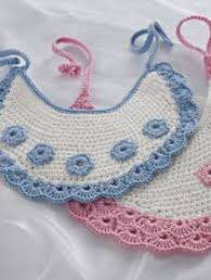 Image result for CROCHET BABY BIBS