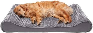 Furhaven Pet Dog Bed - Orthopedic Ultra Plush Faux ... - Amazon.com