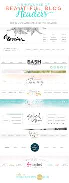 17 best ideas about header design resume graphic a showcase of beautiful blog headers