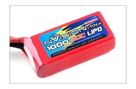 <b>Аккумулятор nVision LiPo 11.1</b>V 3S 30C 1000 mAh - купить в Rc-like