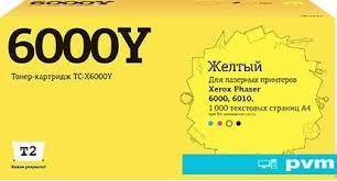 <b>Картридж T2</b> TC-X6000Y (аналог Xerox <b>106R01633</b>), цена 38 руб ...