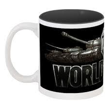 <b>Кружка цветная внутри</b> Сувенир World of Tanks #249141 в Москве