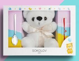 24001 Серебряный подарочный набор для малыша и мамы ...
