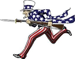 Image result for uncle sam at war clipart