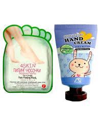 Пилинг-носочки Fruit&Vinegar Foot Peeling Mask и Крем <b>для</b> рук ...