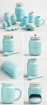 decor kitchen kitchen: bue ceramic mason jar collection  bue ceramic mason jar collection