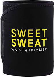 Sports Research <b>Sweet Sweat</b> Premium <b>Waist Trimmer</b> (Yellow