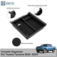 <b>EDBETOS</b> for Toyota Tacoma 2016 2019 Central Armrest <b>Storage</b> ...