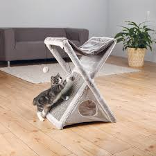 dining table vanbure el amazoncom trixie pet products miguel fold and store cat tower cat hous