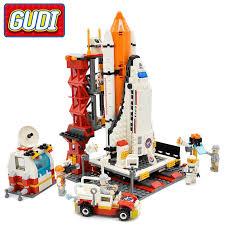 <b>City Spaceport Space</b> Shuttle Blocks <b>679pcs</b> Bricks Building Block ...