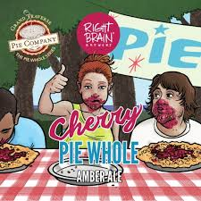 Cherry <b>Pie</b> Whole - Right <b>Brain</b> Brewery - Untappd