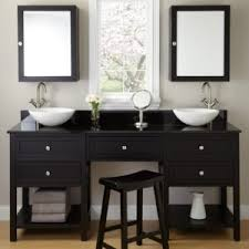 inspiration bathroom vanity chairs: bathroom bathroom decorating theme features wooden bathroom vanity and wooden drawers unit plus rounded pull