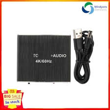 Windyons <b>AY105 Type</b>‑CV Earphone <b>Adapter</b> Cable 3.5MIC Audio ...