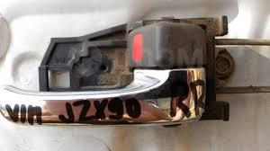 <b>Ручка двери салонная</b>. Правая. Хром. Toyota Mark2/Cresta #X9 ...
