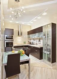 small kitchen furnitures ideas added ceiling mahogany small kitchen modern style with glass and wood cabinets