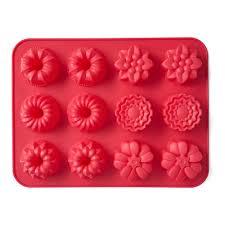 <b>Форма для выпечки</b> на 12 кексов <b>Walmer Cupcakes</b>, цвет красный ...
