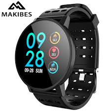 Makibes T3 <b>Smart watch waterproof</b> Activity <b>Fitness</b> tracker HR ...