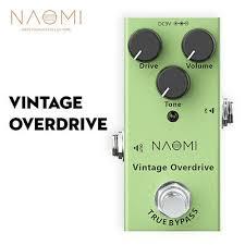 <b>NEP</b>-<b>01</b> Electric <b>Guitar Effect Pedal</b> Vintage Overdrive <b>Effect</b> DC 9V ...