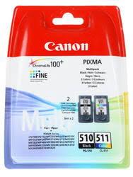 Характеристики <b>Набор картриджей Canon</b> PG-510/CL-511 ...