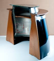 cowling reception desk aviation themed furniture