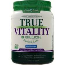Green Foods <b>True Vitality</b> - <b>Plant</b> Protein Shake with DHA on sale at ...