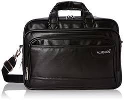 Buy Kuber Industries™ <b>Soft</b> Leather 15, <b>6</b>-<b>Inch Black</b> Laptop ...