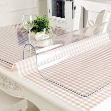 <b>VIVACASE Скатерть на стол</b> ПВХ, квадрат, гибкое стекло, тубус ...