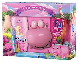 <b>Набор подарочный детский</b> для девочек Schaumа+Fa, 475 мл ...