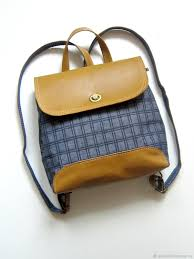 "Designer backpack ""urban history"" (<b>jeans mustard</b>) – заказать на ..."