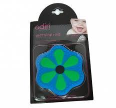 <b>Прорезыватель Adiri Petal Teething</b> Ring Green-cyan - купить в ...