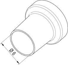 0472СR, <b>Насадка</b> (сопло) 6.0мм для <b>термофена</b> i-TOOL AIR S ...