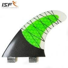 ISF Hot sale carbon fiber quilhas de <b>surf</b> honeycomb <b>fcs surfboard</b> ...