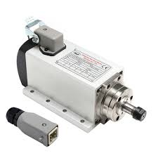 China High Speed <b>800W</b> Er11 Square Air <b>Cooled Spindle Motor</b> ...
